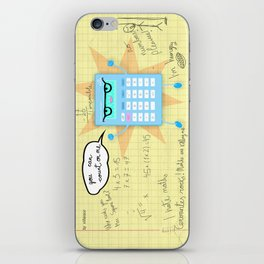 You can count on me! iPhone Skin