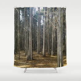 Old Souls Rooted In Beauty Shower Curtain