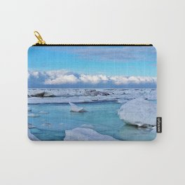 Frozen, and clouds on the Horizon Carry-All Pouch