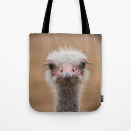 Common Ostrich portrait Tote Bag