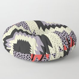 Ethnic fun with dots Floor Pillow
