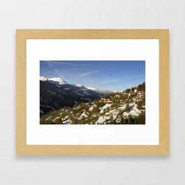 Schanfigg GR Langweis 5 Framed Art Print