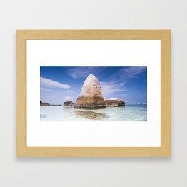 #belitung 01. Framed Art Print