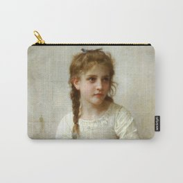 """William-Adolphe Bouguereau """"Sewing"""" Carry-All Pouch"""