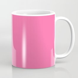 The Future Is Bright Light-Pink - Solid Color Coffee Mug