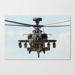 Apache - Face to Face Canvas Print