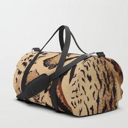 Leopard,tiger print Duffle Bag