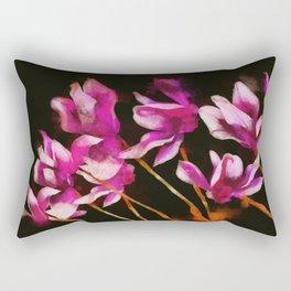 Cyclamens Rectangular Pillow