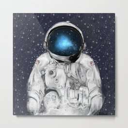 space adventurer Metal Print