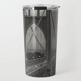 St. John's Bridge - B + W Travel Mug