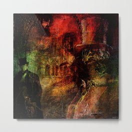 Whitechapel , first murder of Jack The Ripper Metal Print