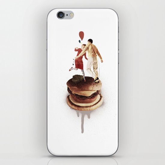 These Burgers Are Crazy II  | Collage iPhone & iPod Skin