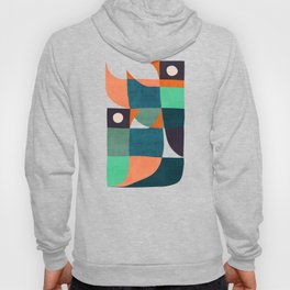 Two birds dancing Hoody