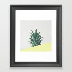 Pineapple Dip III Framed Art Print