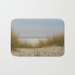 view of the North Sea from the dunes Bath Mat