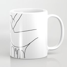 Colorful Climax line - Erotic Art Illustration Nude Sex Sexual Love Lovers Relationship Couple Coffee Mug