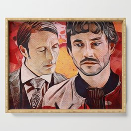 Will and Hannibal, Murder Husbands Serving Tray