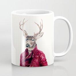 Deer In Leather Coffee Mug