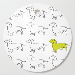 Weenie Collective Cutting Board