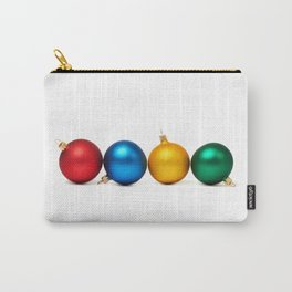 Colorful Christmas balls Carry-All Pouch
