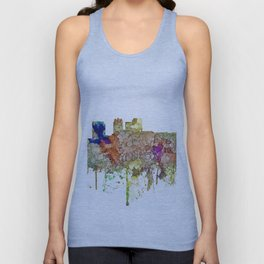 Birmingham, Alabama Skyline SG - Faded Glory Unisex Tank Top