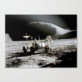 Apollo 15 Of The Lunar Rover, nasa  2 Canvas Print