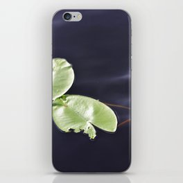 Waterlily pads iPhone Skin