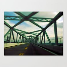 Bridges do so many thing (in Color) Canvas Print