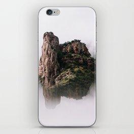Fantasy Floating Mountain iPhone Skin
