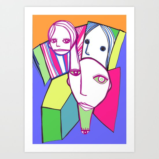 Ispir-azione Art Print