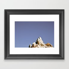 Expedition Everest Framed Art Print