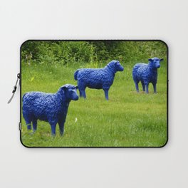 blue sheep Laptop Sleeve