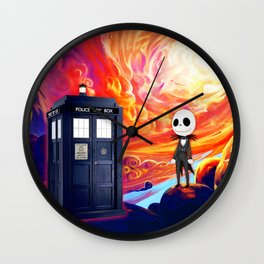 Jack Skellington Journey Wall Clock