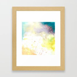 BELIEVE (no words) Framed Art Print
