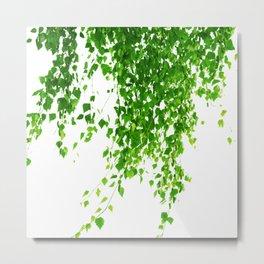 Green Leaves Delight #1 #tropical #decor #art #society6 Metal Print
