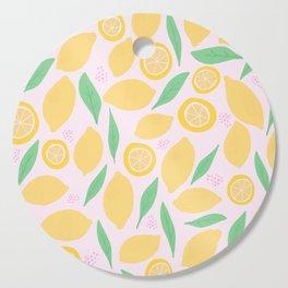 Pink Lemonade II Cutting Board