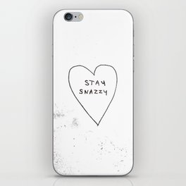 Stay snazzy iPhone Skin