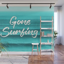 GONE SURFING Wall Mural