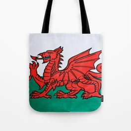 The Welsh Dragon Tote Bag