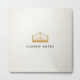 Classic Gates Metal Print