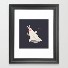 You should like carrots Framed Art Print