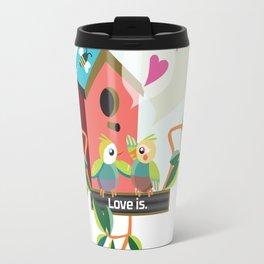 Love is. Travel Mug