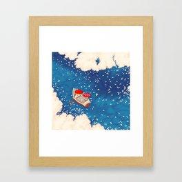 Ohanami Framed Art Print