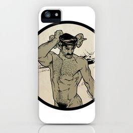 Tom of Faunland iPhone Case