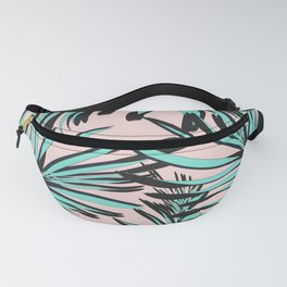 Tropical print Fanny Pack