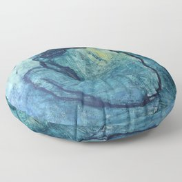 Pablo Picasso's The Blue Nude Floor Pillow