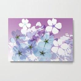Almond Blossoms Violet 2 Metal Print