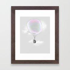 Iridescent Aeronautics Framed Art Print