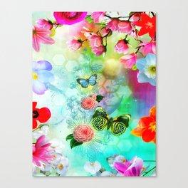 Floral Fantasy 9 Canvas Print