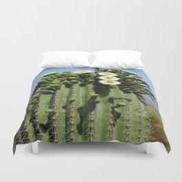 Beautiful Saguaro Blossoms Duvet Cover